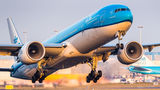KLM Boeing 777-300ER PH-BVO at Amsterdam - Schiphol airport