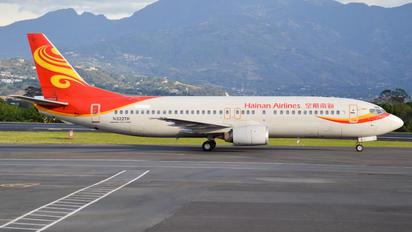 N322TR - Hainan Airlines Boeing 737-400