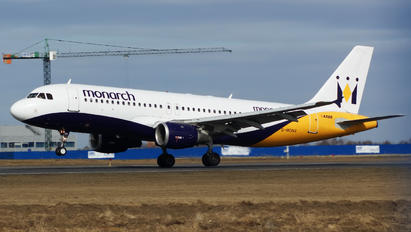 G-MONX - Monarch Airlines Airbus A320