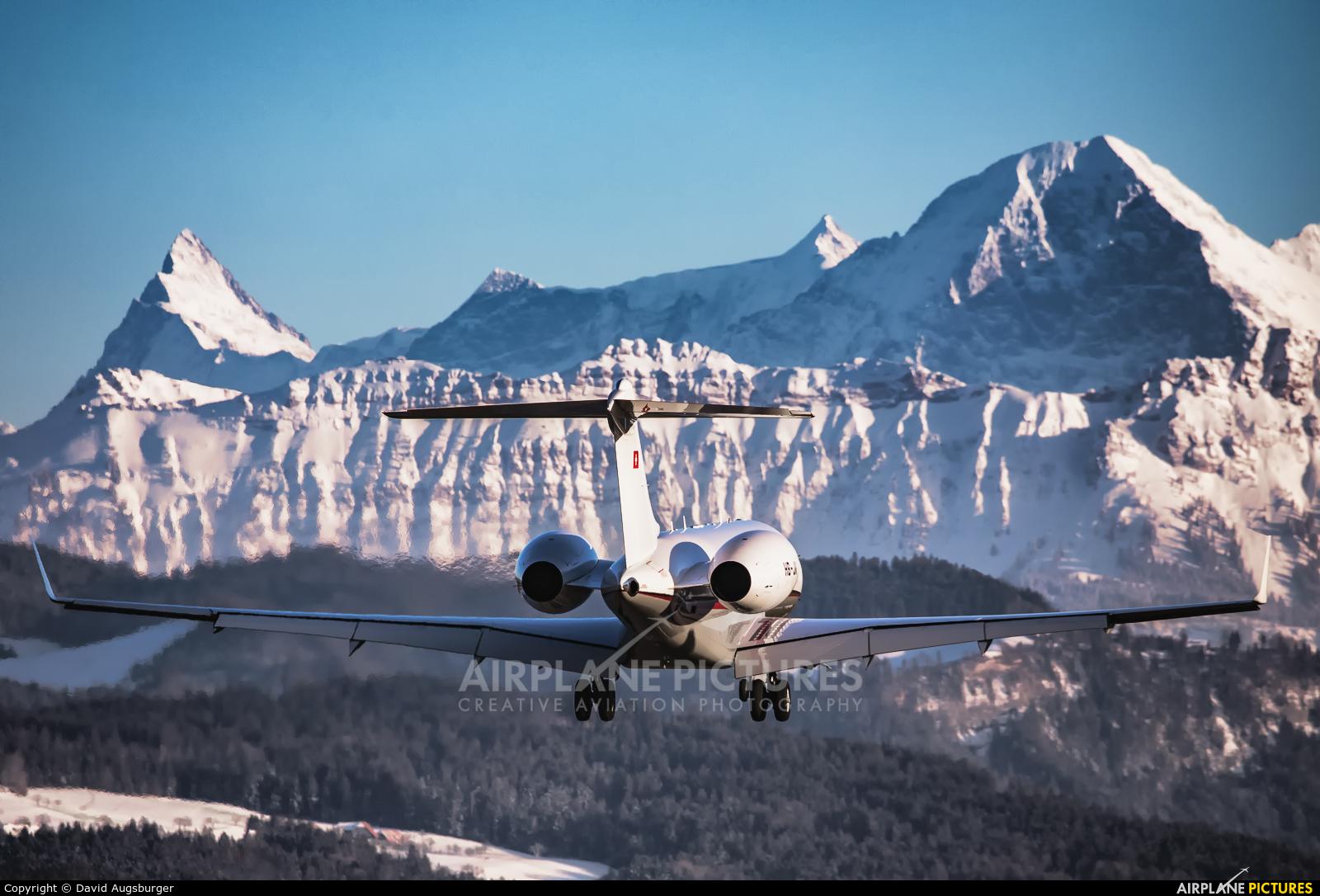 Private HB-JII aircraft at Bern - Belp