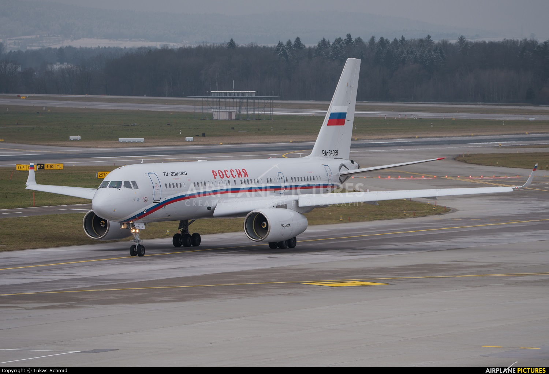 Rossiya Special Flight Detachment RA-64059 aircraft at Zurich
