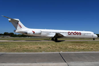 LV-BEG - Andes Lineas Aereas  McDonnell Douglas MD-83