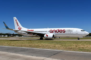 LV-GWL - Andes Lineas Aereas  Boeing 737-800