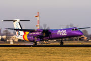 G-JEDM - Flybe de Havilland Canada DHC-8-400Q / Bombardier Q400 aircraft