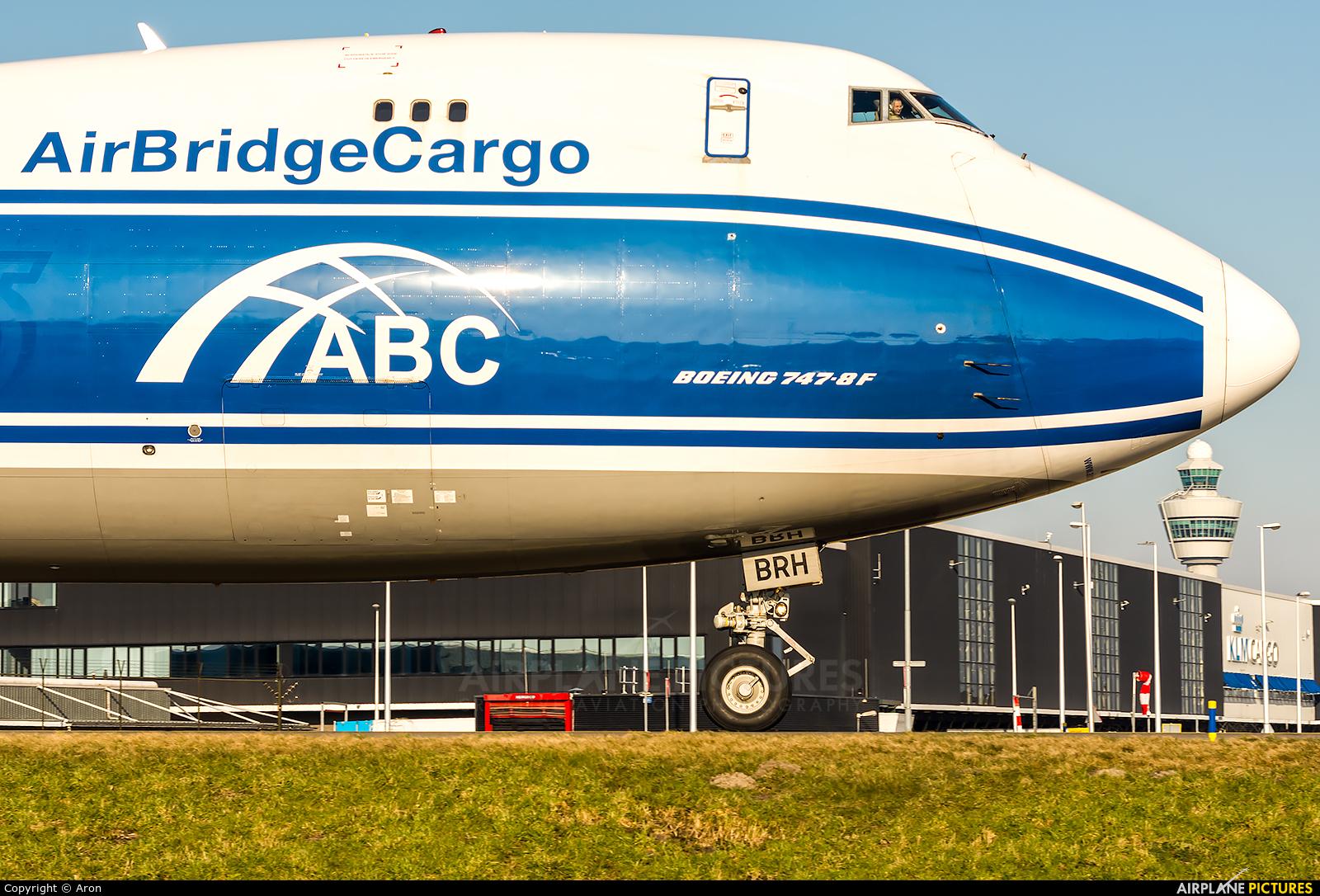 Air Bridge Cargo VQ-BRH aircraft at Amsterdam - Schiphol