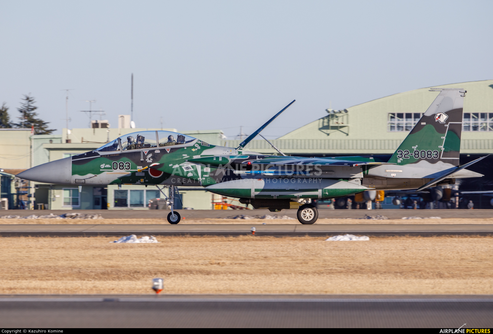 Japan - Air Self Defence Force 32-8083 aircraft at Ibaraki - Hyakuri AB