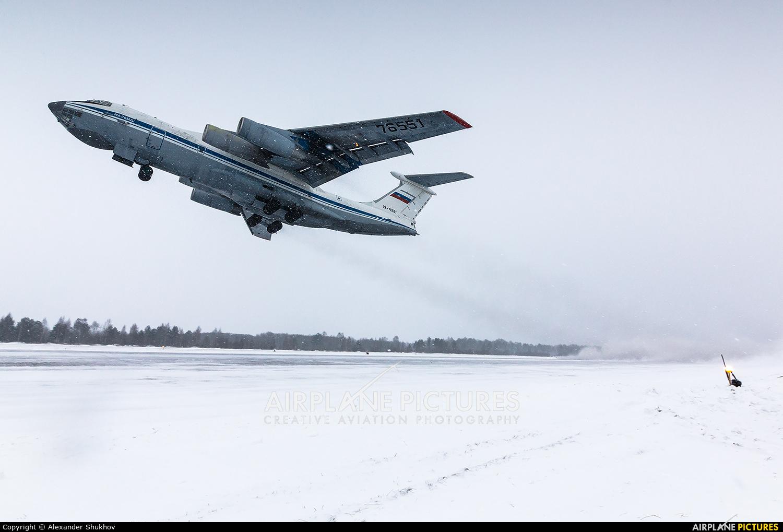 Russia - Air Force RA-76551 aircraft at Tver - Migalovo