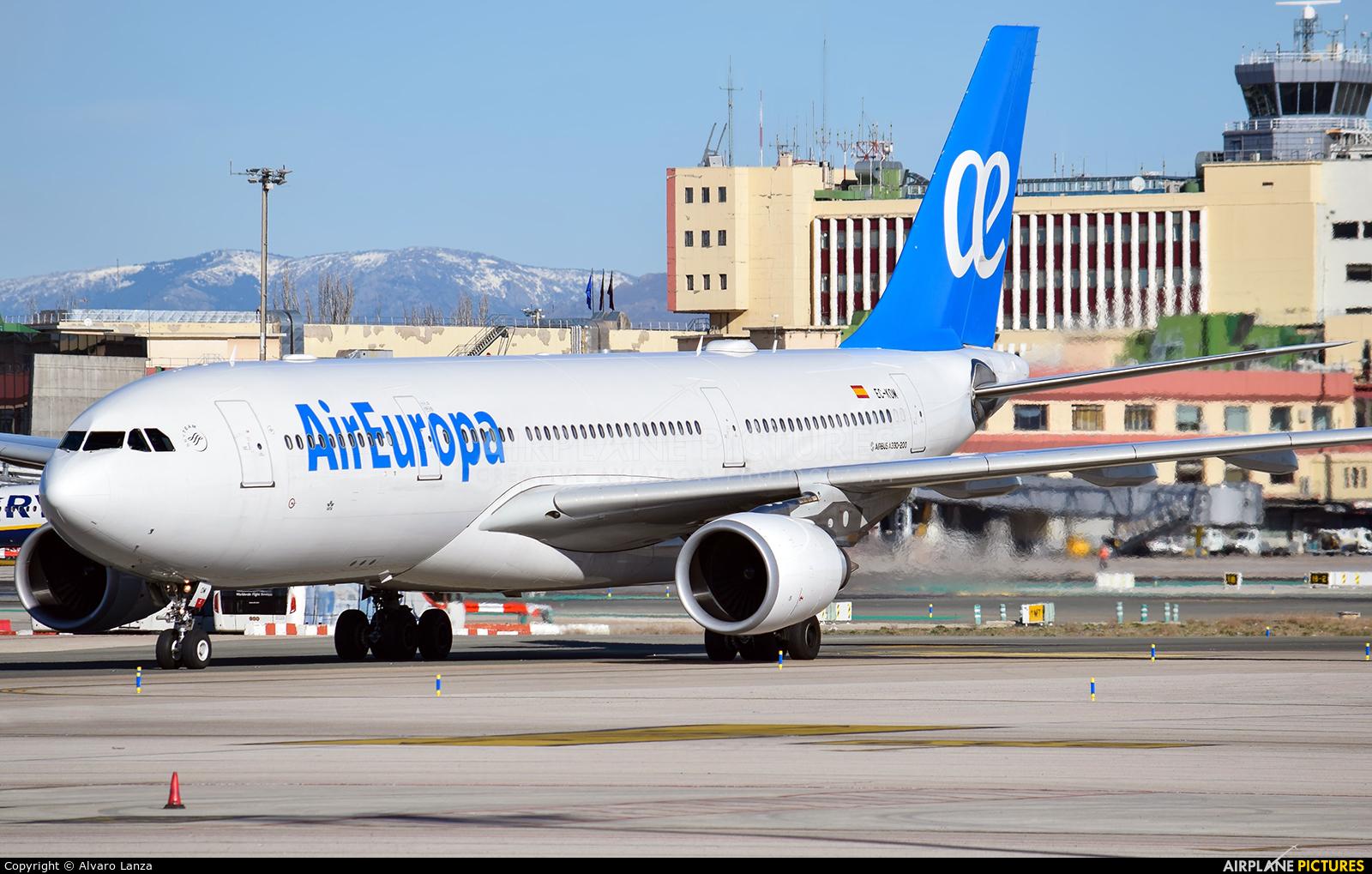 Air Europa EC-KOM aircraft at Madrid - Barajas