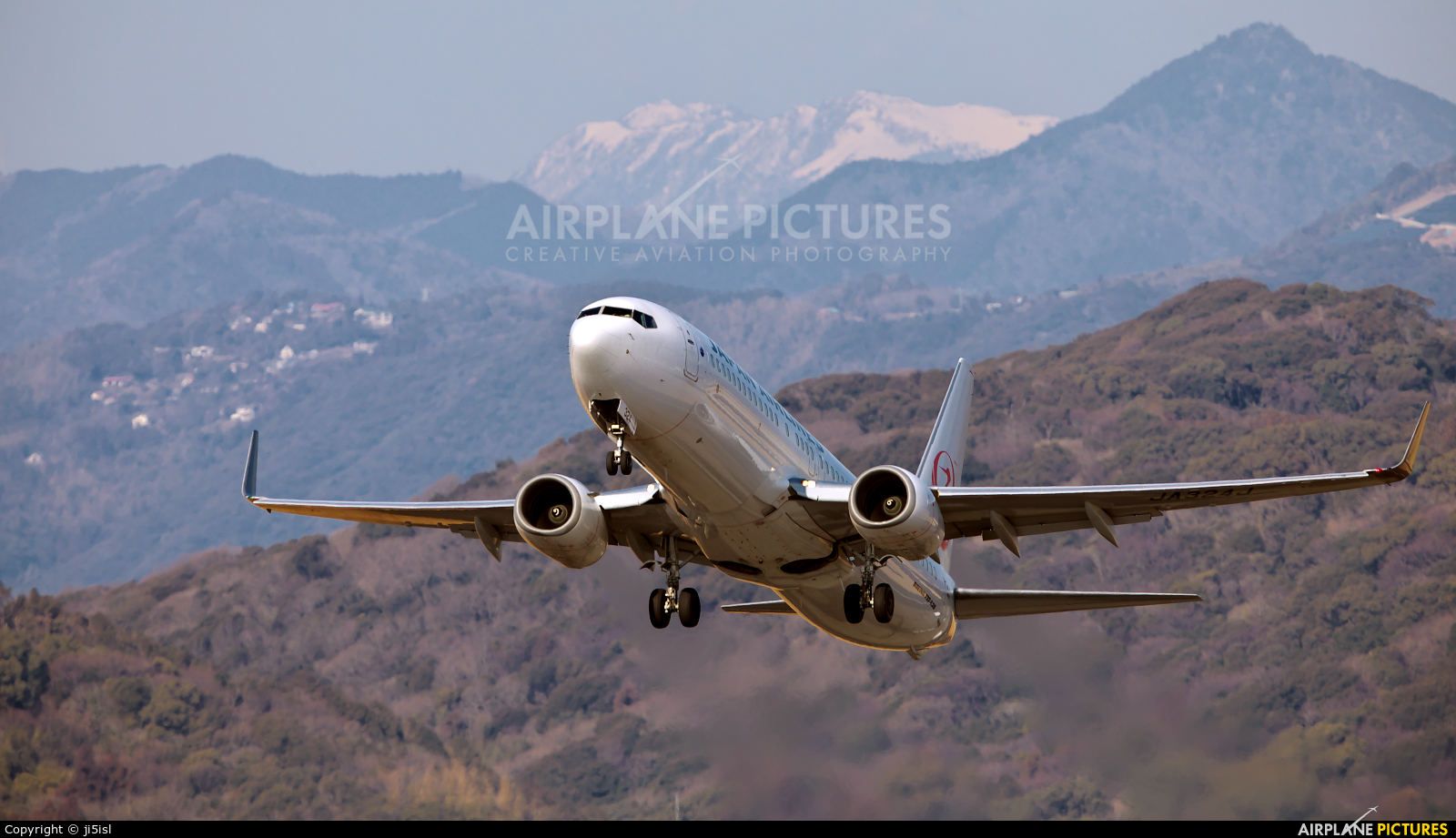 JAL - Japan Airlines JA324J aircraft at Kōchi