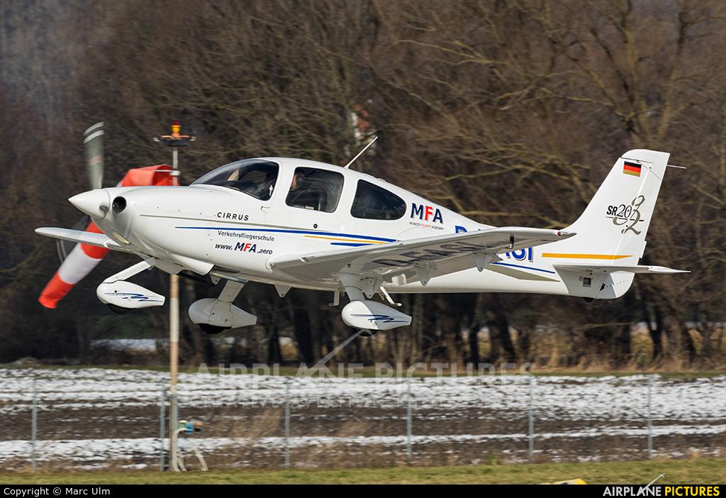 Munich Aviation Company D-EASI aircraft at Augsburg