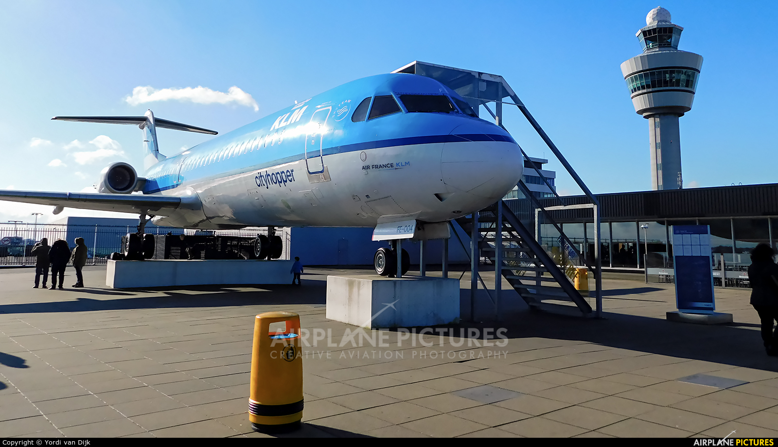 KLM Cityhopper PH-OFE aircraft at Amsterdam - Schiphol
