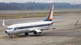 Thai Air Force B738 at Zurich Airport