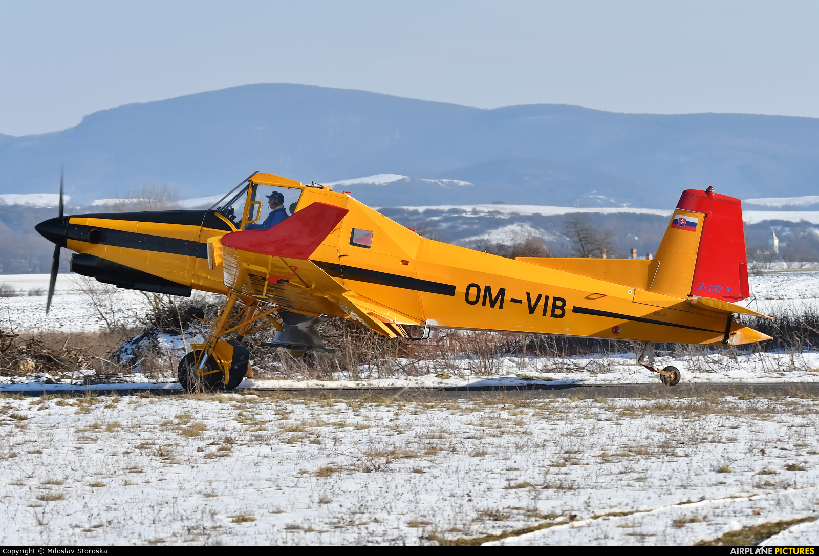 Aero Slovakia OM-VIB aircraft at Lučenec