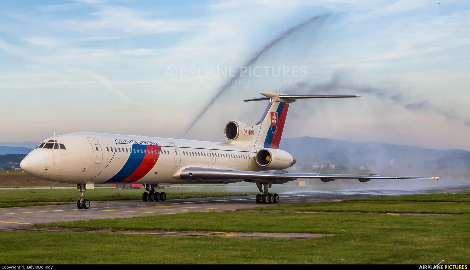 Slovakia - Government OM-BYO aircraft at Košice - Barca