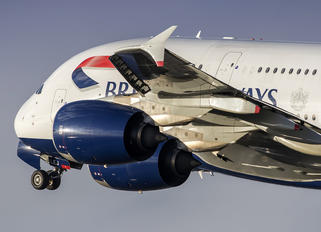 G-XLEJ - British Airways Airbus A380