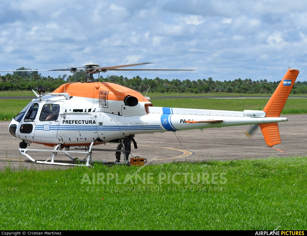 Argentina - Coast Guard PA-81 aircraft at Formosa Intl