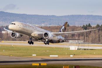 A6-BLN - Etihad Airways Boeing 787-9 Dreamliner