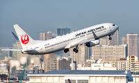 JA346J - JAL - Japan Airlines Boeing 737-800 aircraft