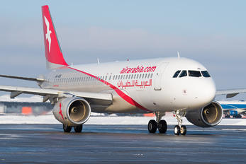 A6-AOU - Air Arabia Airbus A320