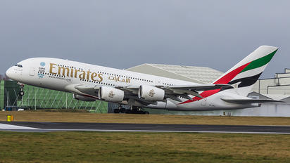 A6-EEJ - Emirates Airlines Airbus A380