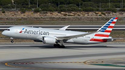 N818AL - American Airlines Boeing 787-8 Dreamliner