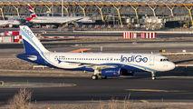 M-IBAL - IndiGo Airbus A320 aircraft