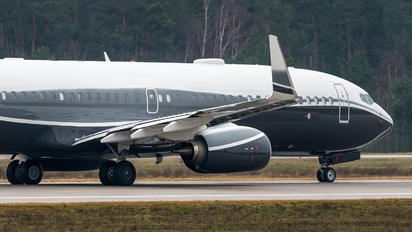 VP-BBZ - Gama Aviation Boeing 737-800 BBJ