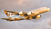 A6-APE - Etihad Airways Airbus A380 aircraft