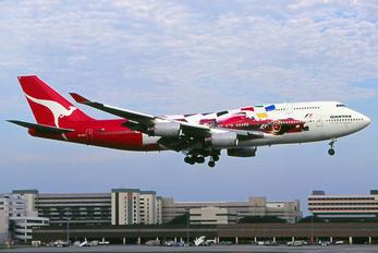 QANTAS - Boeing 747-400 VH-OJC