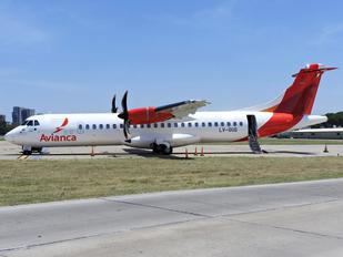 LV-GUG - Avianca Argentina ATR 72 (all models)