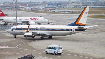 HS-MVS - Thailand - Air Force Boeing 737-800 BBJ