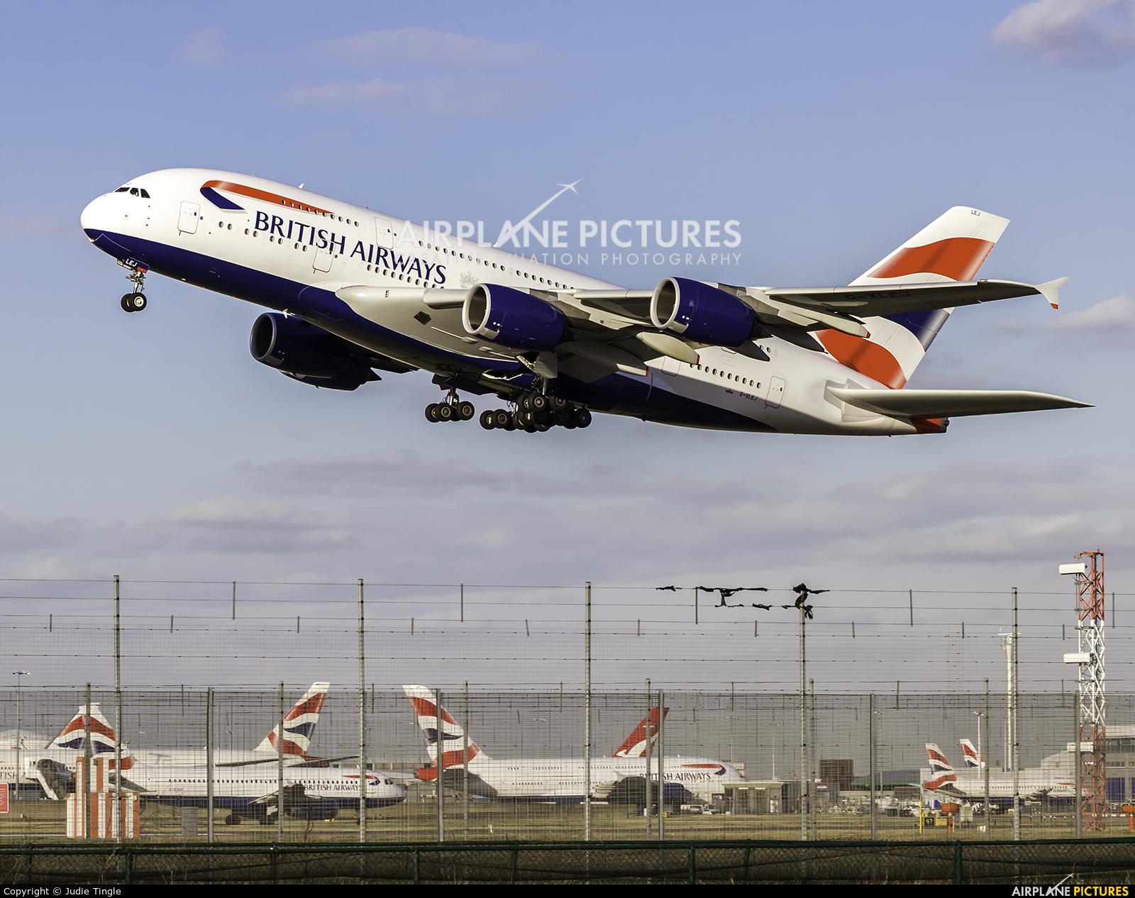 British Airways G-XLEJ aircraft at London - Heathrow