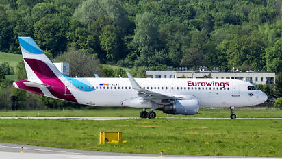 D-AEWT - Eurowings Airbus A320