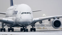 D-AIMM - Lufthansa Airbus A380 aircraft