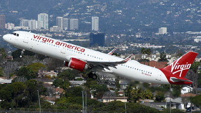 N922VA - Virgin America Airbus A321 NEO