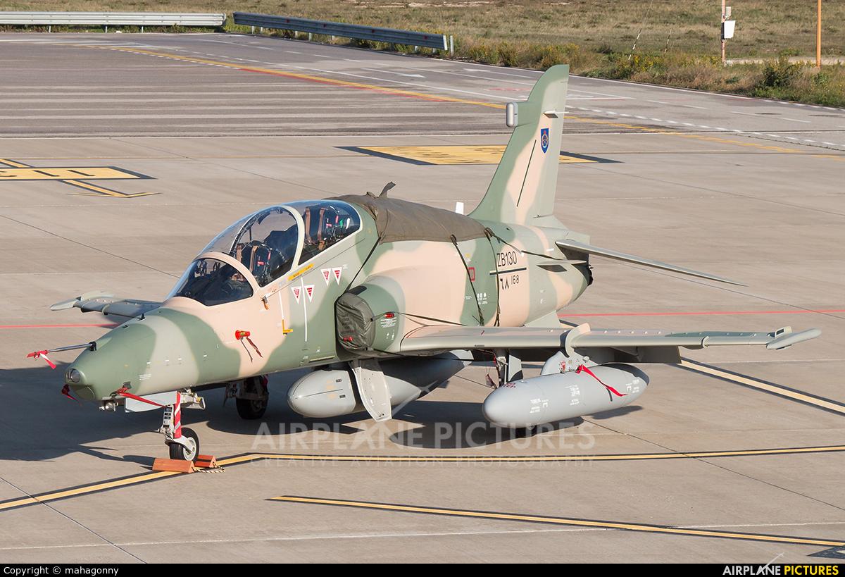 Oman - Air Force ZB130 aircraft at Bari