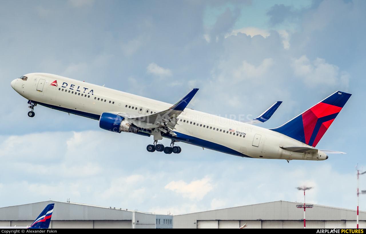 Delta Air Lines N184DN aircraft at Moscow - Sheremetyevo