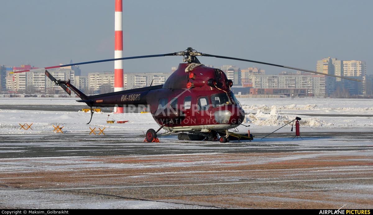Private RA-15629 aircraft at Omsk Tsentralny