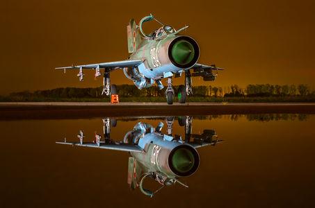 #1 Bulgaria - Air Force Mikoyan-Gurevich MiG-21bis 294 taken by Ivan Donchev