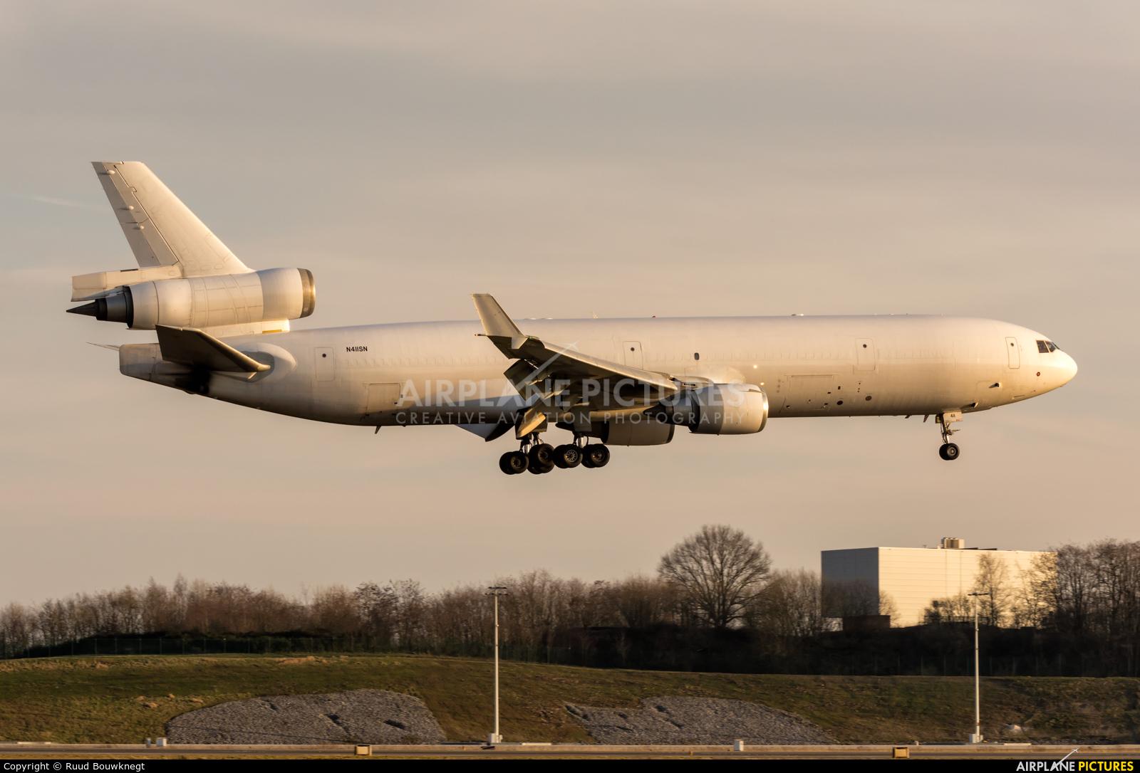 Western Global Airlines N411SN aircraft at Liège-Bierset