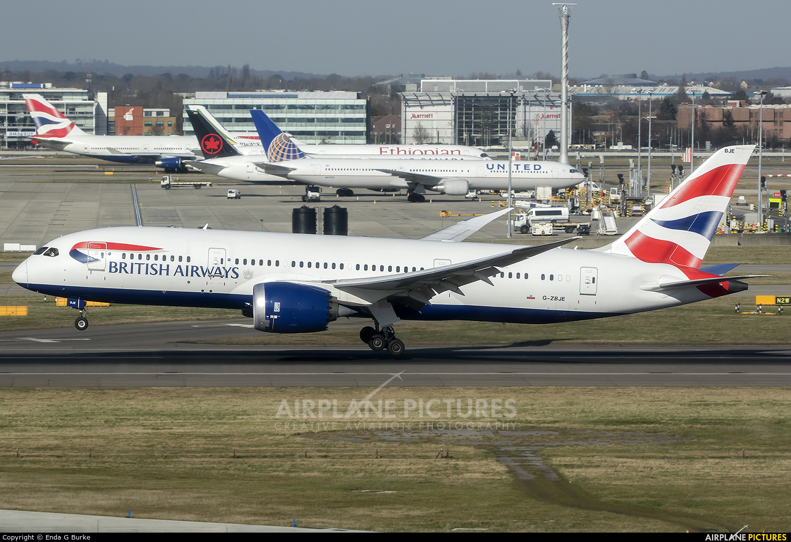 British Airways G-ZBJE aircraft at London - Heathrow