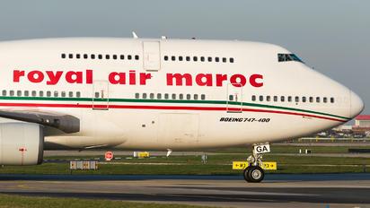 CN-RGA - Royal Air Maroc Boeing 747-400