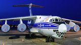 Volga Dnepr Il-76 visited Prague