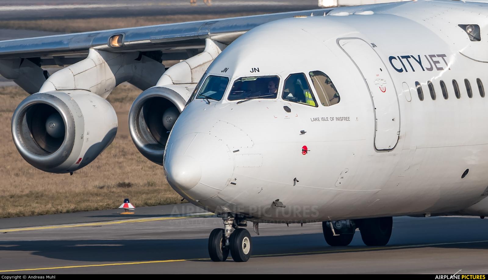 CityJet EI-RJN aircraft at Frankfurt