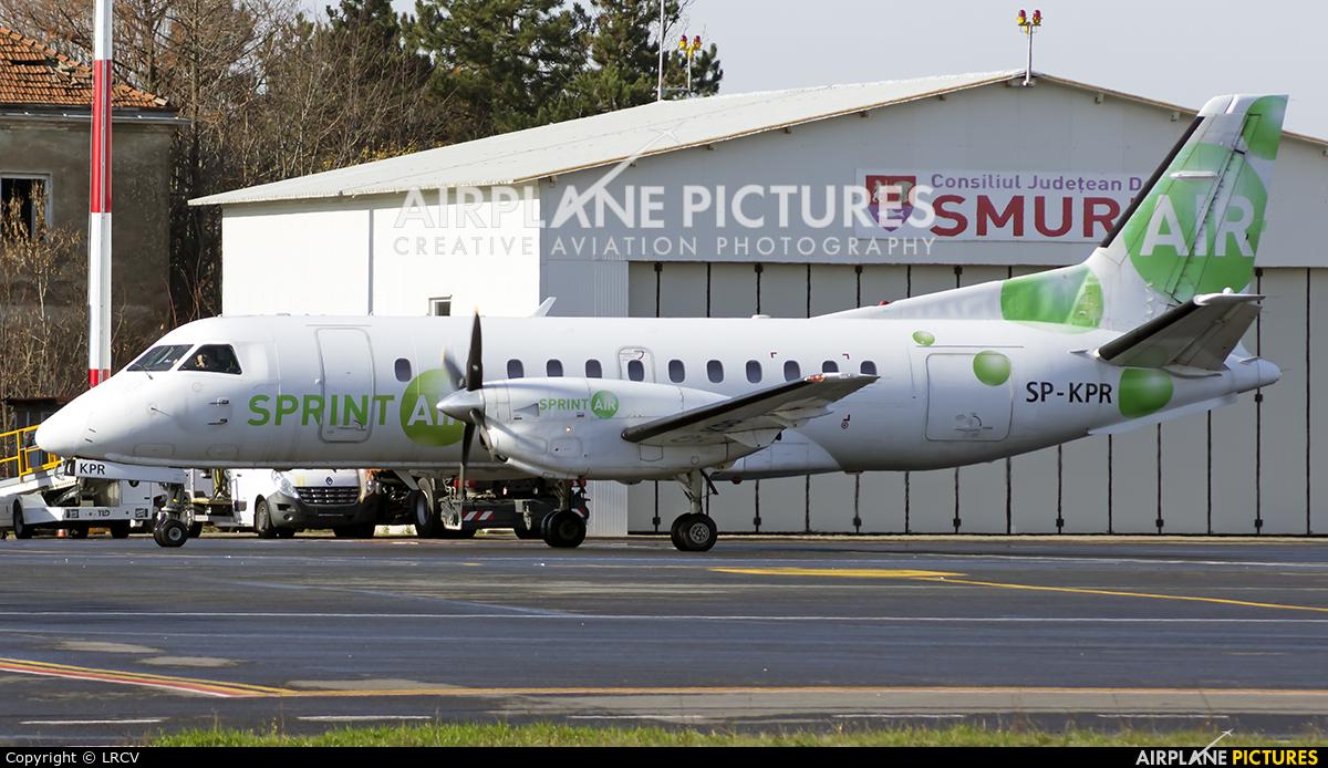 Sprint Air SP-KPR aircraft at Craiova