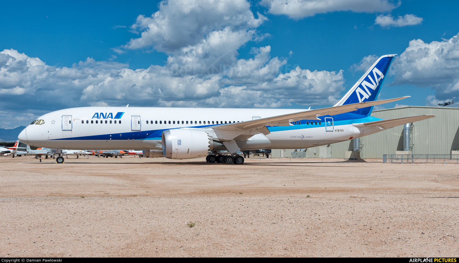ANA - All Nippon Airways N787EX aircraft at Tucson - Pima Air & Space Museum