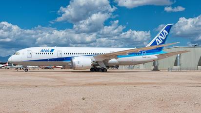 N787EX - ANA - All Nippon Airways Boeing 787-8 Dreamliner