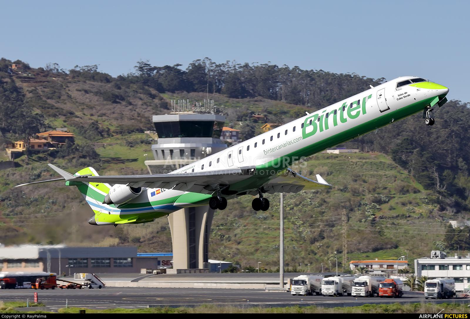 Binter Canarias EC-LOV aircraft at Tenerife Norte - Los Rodeos