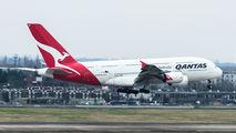 VH-OQG - QANTAS Airbus A380 aircraft