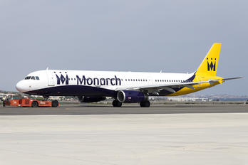G-ZBAJ - Monarch Airlines Airbus A321